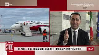Coronavirus, Fiumicino: Ministro Di Maio accoglie 30 sanitari albanesi - Storie italiane 30/03/2020