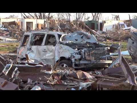 EF5 Oklahoma Tornado Damage Part 1