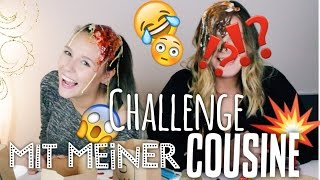 EAT or WEAR IT Challenge  - mit meiner COUSINE - #BEEcember2 | Dagi Bee