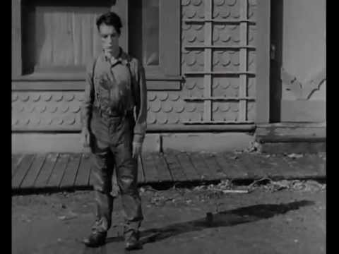 From Steamboat Bill Jr. Arguably Buster Keaton's most infamous stunt!