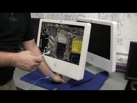 How toTake Apart an iMac - Part 1 (Remove Front Panel)