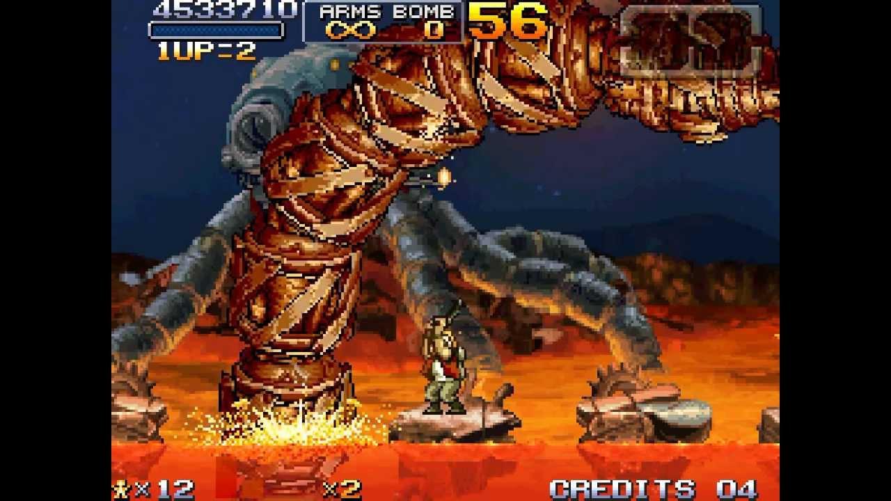 Metal Slug 7 Walkthrough/Gameplay DS MonoScreen HD - YouTube