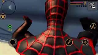Black Spider Man | Naxeex Vegas Crime Simulator Gameplay HD