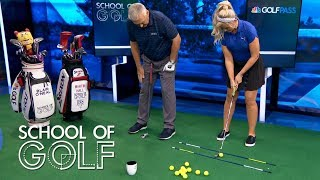 Golf Instruction: Indoor putting drills for the off-season | School of Golf | Golf Channel