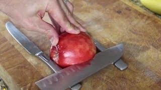 Olha o que virou esta maçã