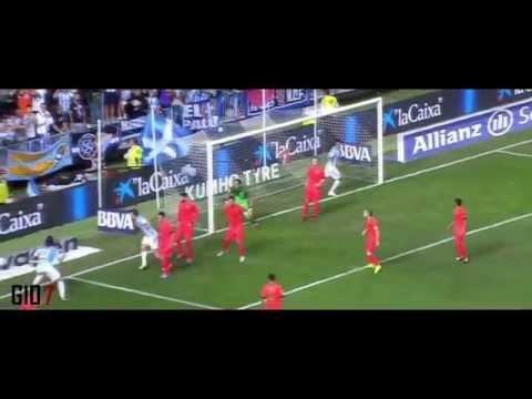 Claudio Bravo (Barcelona) vs Malaga (24-09-14)