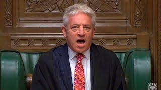 UK commons speaker is a 'complete comedian'