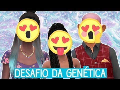 ELA FICOU LINDA DEMAIS!!!   Desafio da Genética - The Sims 4