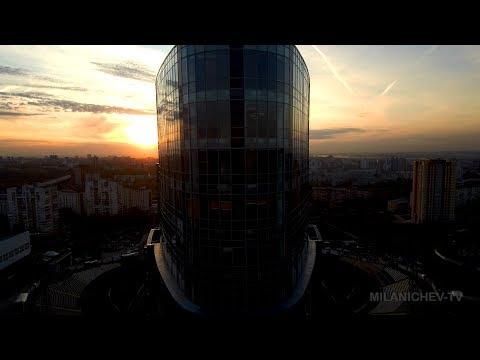 Пермь от рассвета до заката. Октябрь 2017. Mi dron 4k.