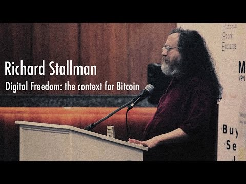 Bitcoin 2012 London: Richard Stallman