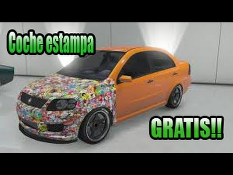 Online Coches Gta 5 Online| Coche Pegatina
