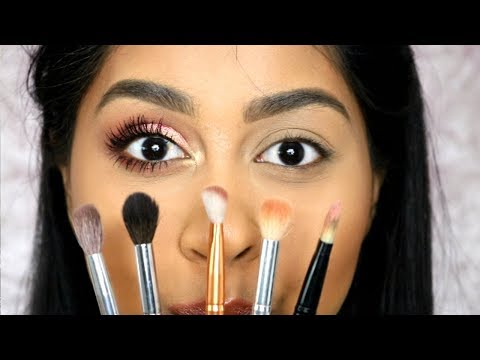 STEP BY STEP EYESHADOW TUTORIAL FOR BEGINNERS + CHEAP BRUSH TALK