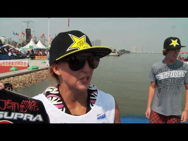 Wakeboard World CUP 2011 - Womens final - Linyi, China