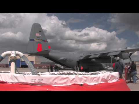C-130 Waterdrop -- 2013 Modular Airborne Firefighting System Training Image 1