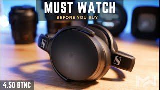 Best NC Headphone Under $200 - Sennheiser HD 4.50 BTNC Review