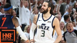 Oklahoma City Thunder vs Utah Jazz Full Game Highlights / Game 4 / 2018 NBA Season