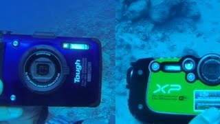 Rugged underwater camera showdown