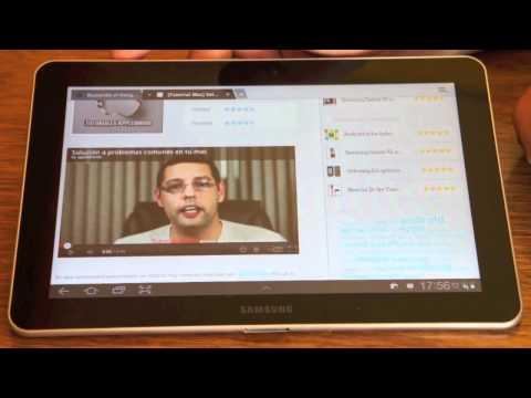 Samsung Galaxy Tab 10.1 Unboxing y completo análisis