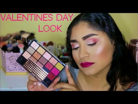 New!!! Hard Candy Eyeshadow Palette Review Plus Valentines Day Look