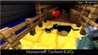 Minecraft Techno Kitty - Minecraft Song - Cats Will Party!