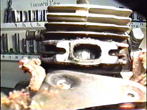 HOW TO Remove Cylinder Off Husqvarna 55 Rancher Chainsaw