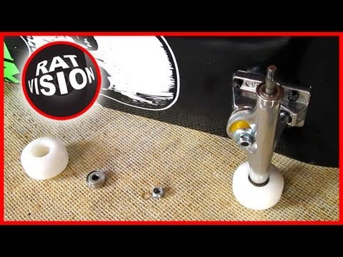 Remove and Insert Skateboard & Longboard Bearings