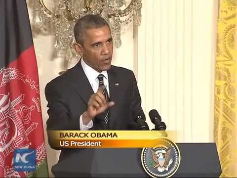 Obama slows withdrawal of US troops from Afghanistan