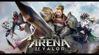 ARENA OF VALOR: NOVO MOBA DE CELULAR. (GAMEPLAY 1080p 30 Fps)