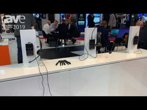 ISE 2019: beyerdynamic Highlights Unite Portable Solution Digital Wireless Communication System