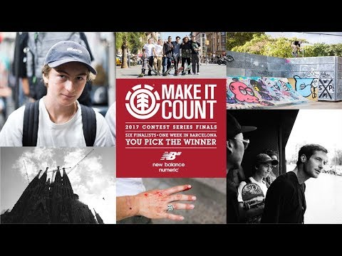Element Make It Count 2017: Raphael Detienne
