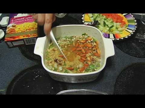 como cocinar couscous