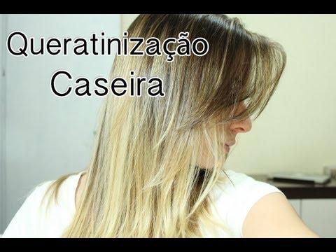 Queratinização Caseira | Deixando os cabelos lindos e tratados! ♥