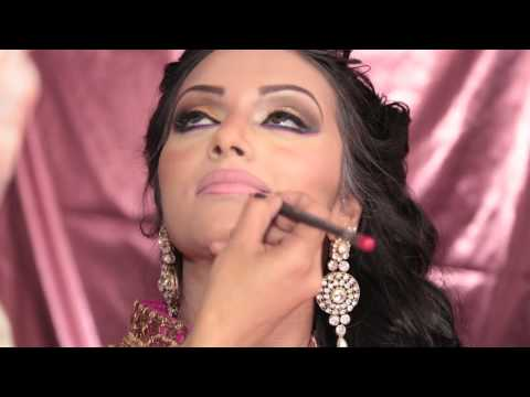 Bridal/ party Arabic  Hair and makeup Look