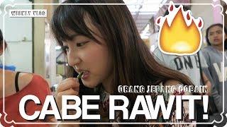 WEEKLY VLOG #45 | Orang Jepang Cobain Cabe Rawit di Indonesia!