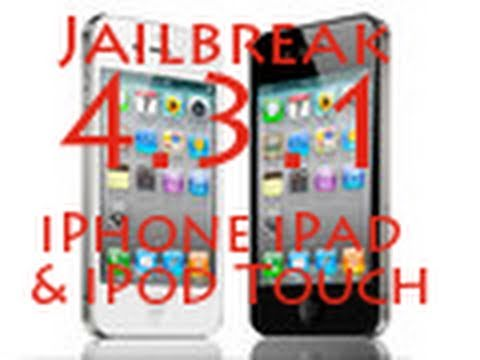 Jailbreak 4.3.1 Para iPhone 4 y 3gs iPad & iPod Touch 4g y 3g Con RedSn0w En Español