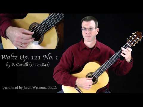 Фердинандо Карулли - Waltz No 1 Opus 121