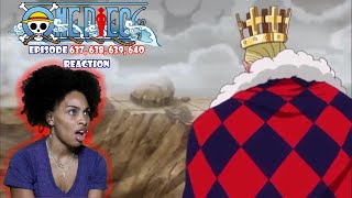 I WASN'T EXPECTING THE FIGHT TO END LIKE THIS | ONE PIECE EPISODE 637, 638, 639, 640 REACTION