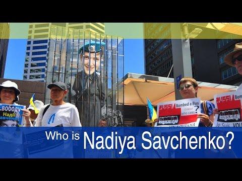 Who is Nadiya Savchenko?