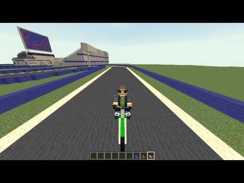 Minecraft : Dirt Bike Mod Review