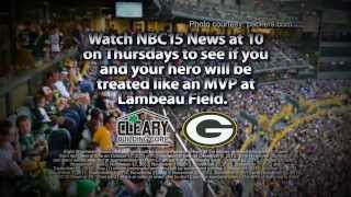 Cleary Building Corp. Packer Hero 2013 Contest