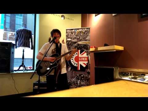Luke Gallagher Music (Live @ Pretty Green Liverpool, 05/04/14) p1