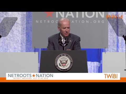 Vice President Joe Biden at @Netroots_Nation 2014 |  #NN14