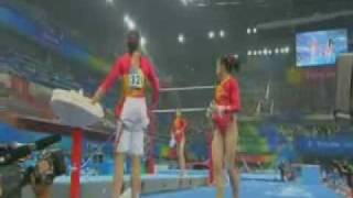 Deng Linlin Uneven Bars TEAM Qualification