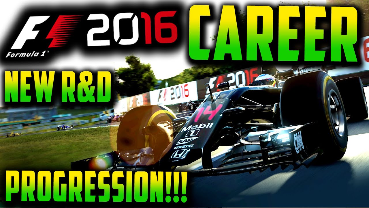 F1 2016 CAREER MODE: NEW R&D SYSTEM, HOW IT WORKS! GAME CHANGER!