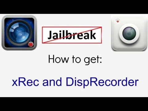 [iOS 6] How to get xRec/DispRecorder Free No Jailbreak!