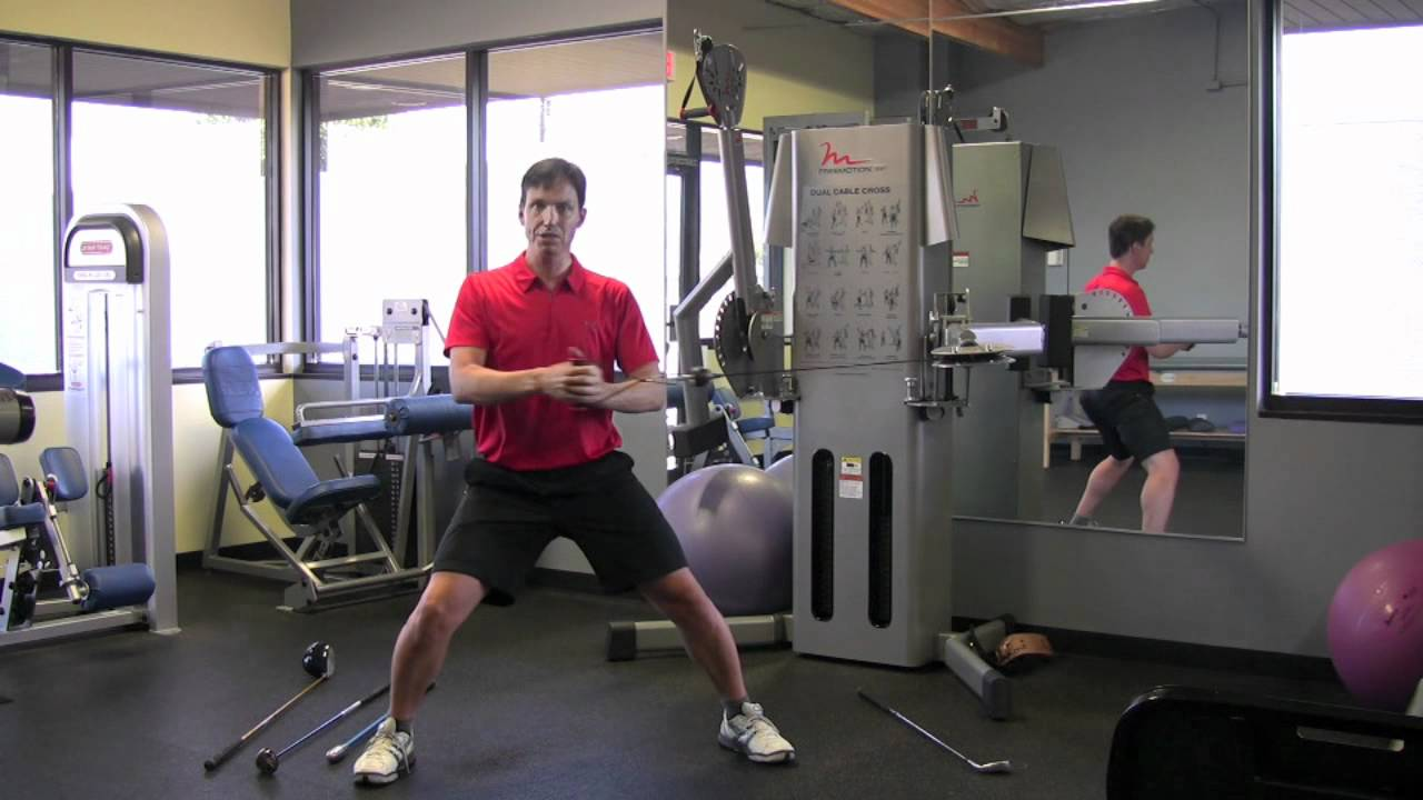 Exercise To Increase Rotational Golf Strength In The Gym