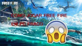 COMO JOGAR FREE FIRE EM PC FRACO !! (2gb/ 1gb de ram)