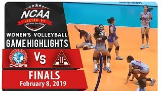 NCAA 94 WV Finals Game 2: AU vs. UPHSD | Game Highlights | February 8, 2019
