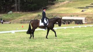 Ben Leahy - Dressage - Lakes and Craters - 2012