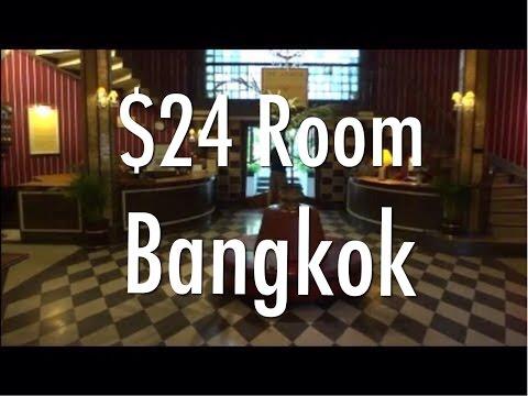 My $24 A Night Budget Hotel Room In Bangkok, Thailand - The Atlanta Hotel In Nana.